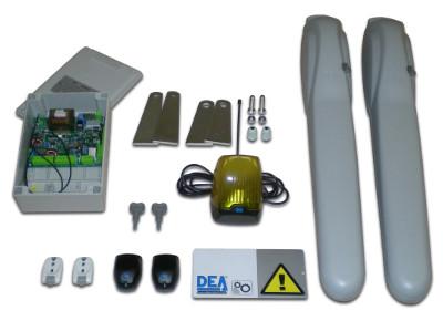 Kit completo de motor para puerta de garaje abatible