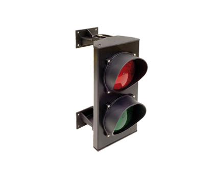 Semáforo para gestión del tránsito en parkings