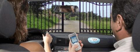 Apertura de puerta automática con el móvil