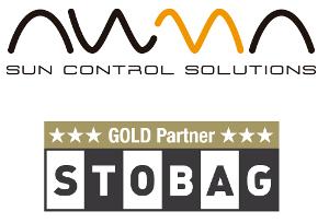 Logotipos de AWMA y Stobag