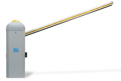 Barreras automáticas de hasta 7.5 metros