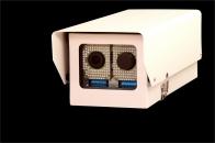 Lector de matrícula con cámara para control de acceso