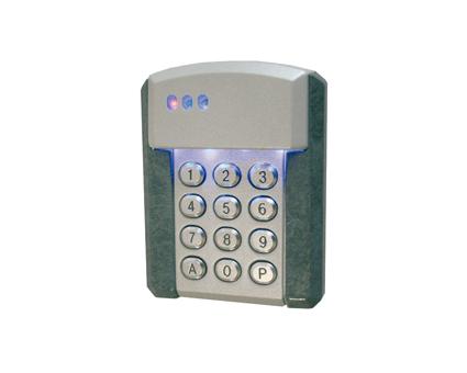 Teclado numérico para control de accesos